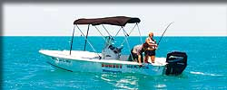 17 ft. center console boat rental