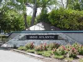 Key West's 1800 Atlantic resort's welcome sign.