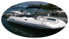 Key West boat rental.