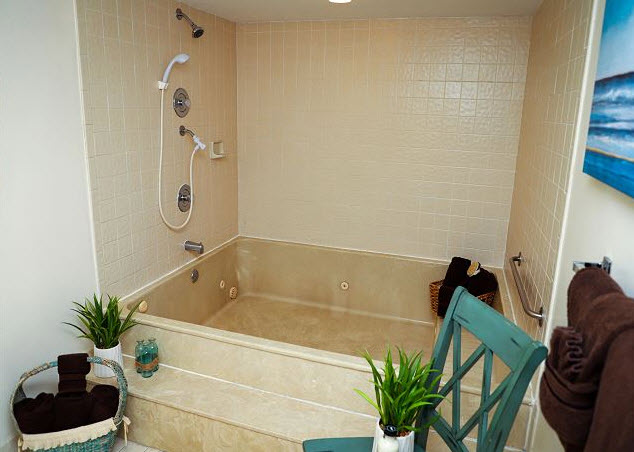 Remodeled Master Bath Shower