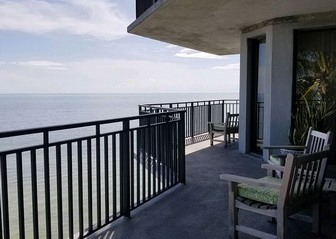 Balcony View for condo rental located at the 1800 Atlantic Resort