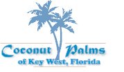 Logo for Coconut Palms ofKey West.