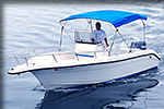 21 foot center console boat