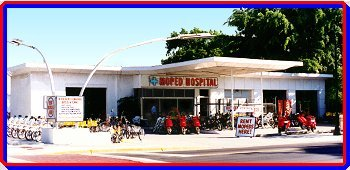 Moped Rentals Hospital located at Truman Ave in Key West