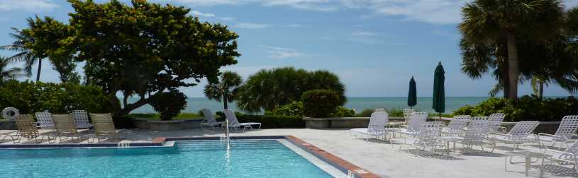 Vacation rental condo in Key West Florida view of the ocean