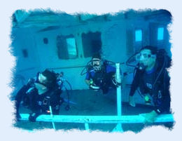 Scuba diving  the Vandenberg shipwreck in Key West.